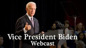 Biden webcast