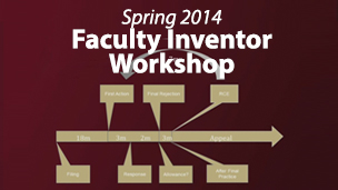 Faculty Inventor Workshop Spring 2014 Webcast