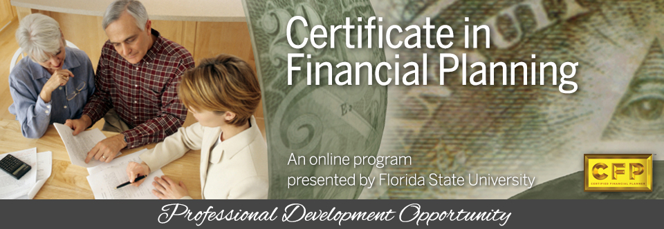 Online Program: Certificate in Financial Planning