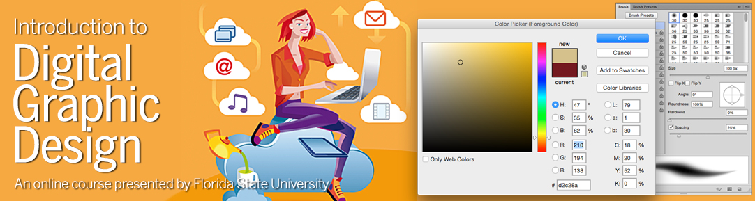 Amazing Introduction To Digital Graphic Design U2013 Online Course | Florida State  University | Learning For Life